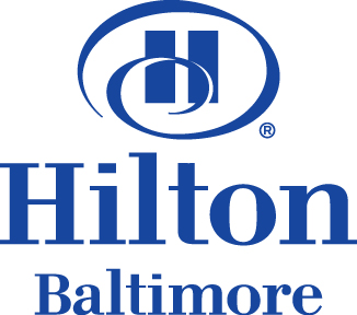 Picture of the Hilton Baltimore hotel logo.
